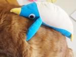 【お留守番猫さん】タイガ君とペンギン